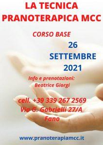 SEMINARIO DI TECNICA PRANOTERAPICA MCC - CORSO BASE @ Centro Olistico Beatrice Giorgi