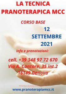SEMINARIO DI TECNICA PRANOTERAPICA MCC - CORSO BASE @ Associazione Umania